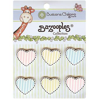 Bazooples Buttons Heart Medley Bz 106