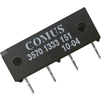 Reed relay 1 maker 5 Vdc 1 A 15 W SIP 4
