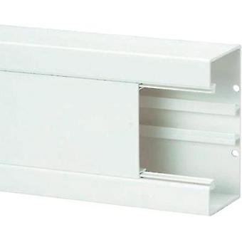 Trunking (W x H x D) 2000 x 130 x 65 mm Heidemann 09823 1 pc(s) Pure white