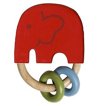 Franck & Fischer India rattle red ring