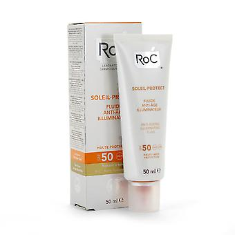 Roc Protect Soleil Luminous Fluid 50 + 50 Ml (Woman , Cosmetics , Sun Care , Protectors)