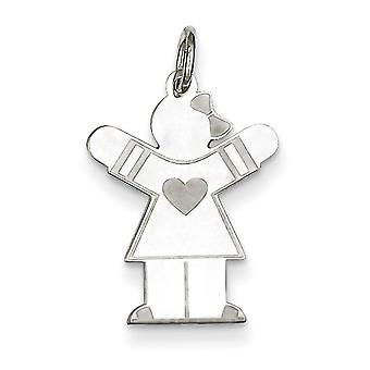 Sterling Silver Kid Charm - .6 Grams