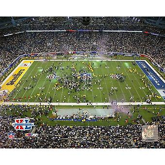 Super Bowl XL - Ford Field Steelers Feier #12 Fotoabzüge