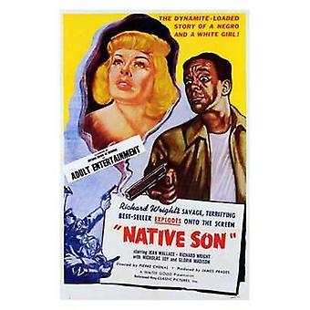 Native søn film plakat (11 x 17)