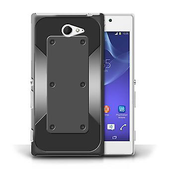 STUFF4 Case/Cover for Sony Xperia M2/Lock/Bolt/Armour/Armor