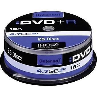 Blank DVD+R 4.7 GB Intenso 4111154 25 pc(s) Spindle