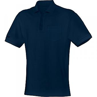 JAMES Polo team with chest pocket