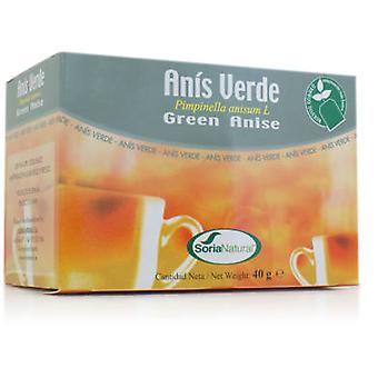 Soria Natural Anis Green Infusion (Dietetics and nutrition)