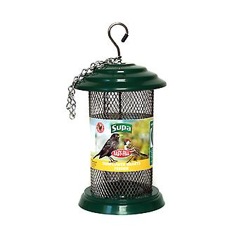 Supa Easy Fill Plastic Sunflower Heart Feeder Green 20cm