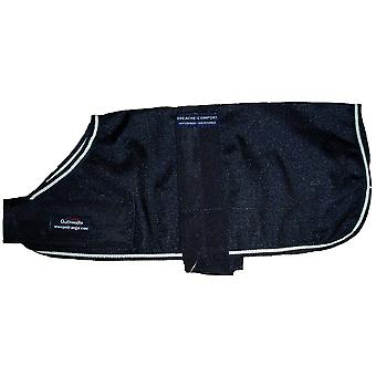 Outhwaites Polyester Unlined Coat Black 30cm (12