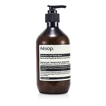 Æsop Geranium blad Body balsam 500ml / 16,67 oz