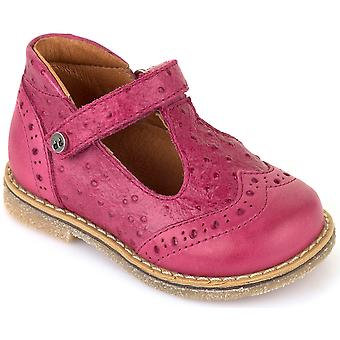 Froddo Girls G2140026-1 T-bar Shoes Pink