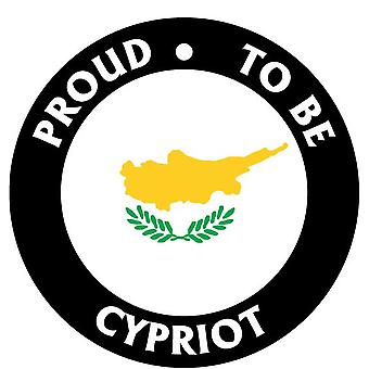 Proud To Be Cypriot Car Air Freshener