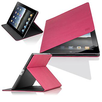 Slim Angle Cover case for Apple iPad Air (iPad 5) - Hot Pink