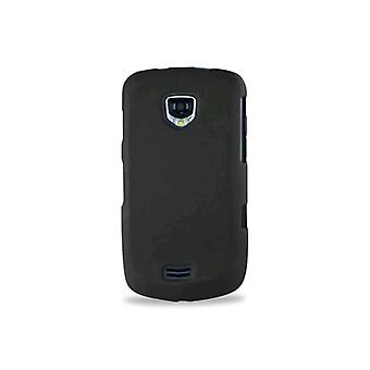 Reiko - Rubberized Protector Case for Samsung I510 - Black
