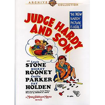 Judge Hardy & Son [DVD] USA import
