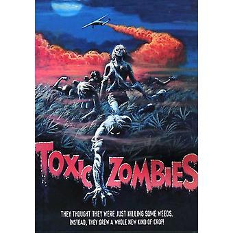 Giftige zombier [DVD] USA importerer