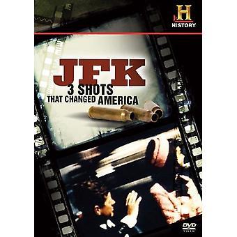JFK-3 Aufnahmen, dass verändert Amerika [DVD] USA import