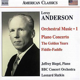 L. Anderson - Leroy Anderson: Orchestral Music, Vol. 1 [CD] USA import