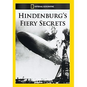 Tajemnice Fiery Hindenburga [DVD] USA import