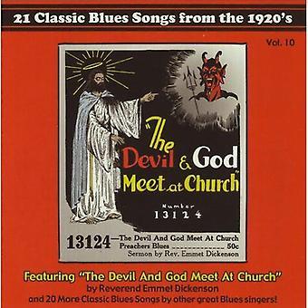 Djævelen & Gud mødes på kirke - Devil & Gud mødes på kirke [CD] USA importen