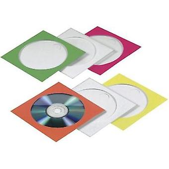CD-DVD PAPER COVERS 100. COLOURED
