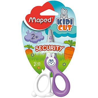 Maped Tijera Infantil Solo Corta Papel 12Cm (Toys , School Zone , Accessories)