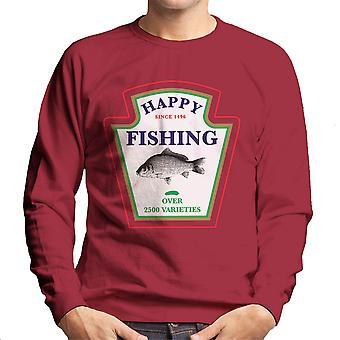 Gelukkig meer dan 2500 soorten mannen vissen is Sweatshirt