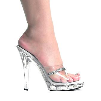 Ellie Shoes E-M-Jesse 5  Sandal With Rhinestones
