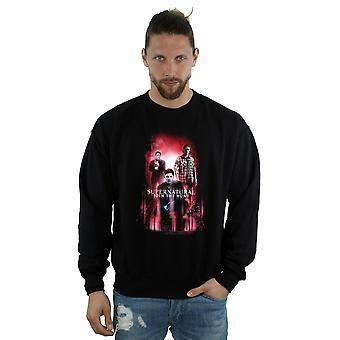 Supernatural Men's Group Crowley Sweatshirt