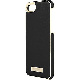 kate spade new york Saffiano leather Wrap Case for iPhone 7 - Saffiano Black/Gol