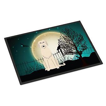 Halloween straszne wilczarz irlandzki wewnątrz lub na zewnątrz Mat 24 x 36