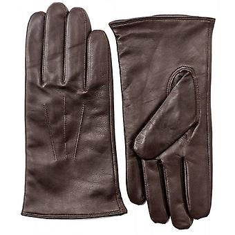 Pittards Nappa Leather Gloves - Mocca Brown
