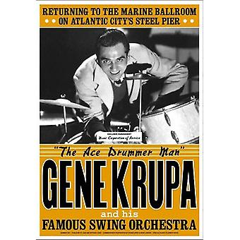Gene Krupa Atlantic City 1941 Poster Print (17 x 24)