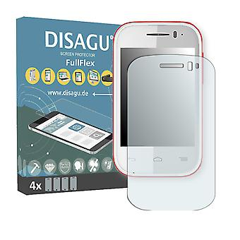 Alcatel One Touch Pop Fit Displayschutzfolie - DISAGU FullFlex Schutzfolie