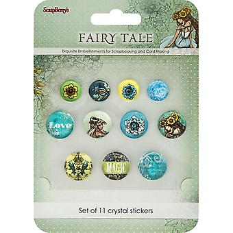 ScrapBerry's Fairy Tale Crystal Stickers-11/Pkg 53000004