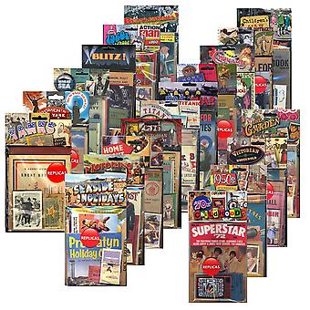Collection of 21 Replica Memorabilia Packs - World Wars & Historical Events