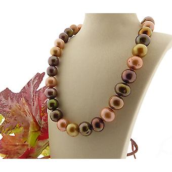 Christian freshwater pearl necklace