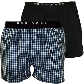 Hugo Boss 2-Pack av & Stripe underbukser, blå/Navy