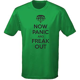 Now Panic And Freak Out Keep Calm Mens T-Shirt 10 Colours (S-3XL) by swagwear