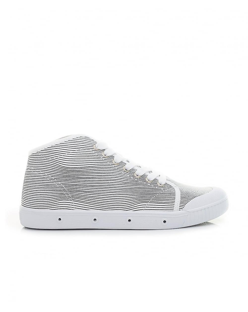 Springcourt B2 Printed Canvas Hi Trainers