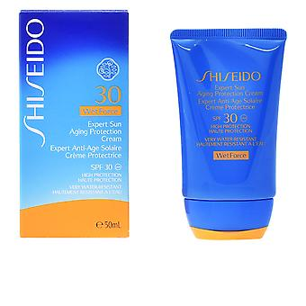 Shiseido Expert Sun Aging Cream Wet Force Spf30 50ml Solar Unisex Sealed Boxed