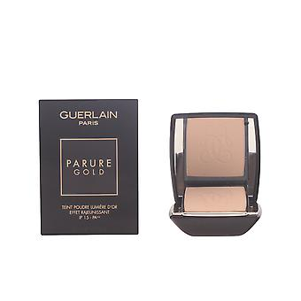 Guerlain Parure Gold Fdt Compact Beige Pale 10gr Womens New Make Up Sealed Boxed