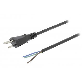 ValueLine Swiss power cable CH type 12-No 3.00 m black