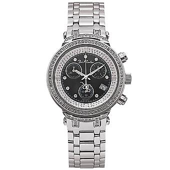 Joe Rodeo diamond ladies watch - MASTER silver 0.9 ctw