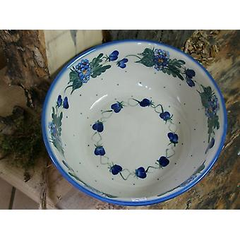 Salad Bowl, ø 23 cm, height 9 cm, 48 - Unikat polish pottery - BSN 1490