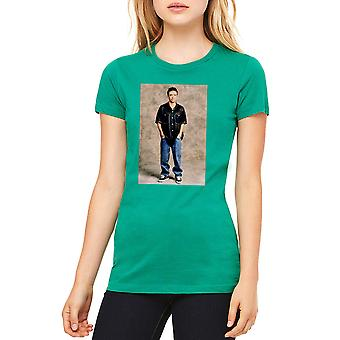 Married With Children Bud Bundy Women's Kelly Green T-shirt