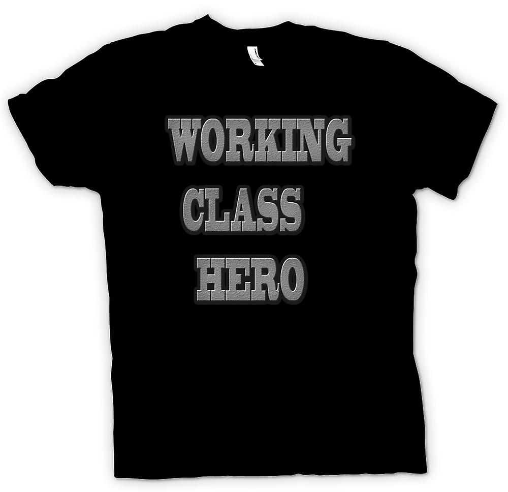 Heren T-shirt - Working Class Hero - Lennon