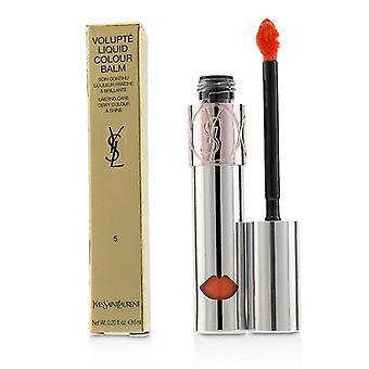 Yves Saint Laurent Volupte væske farge balsam - # 5 se meg Orange - 6ml/0,2 oz