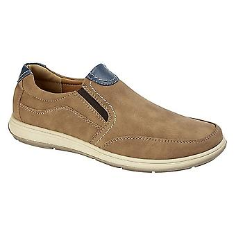 Scimitar Mens Twin Gusset Casual Shoe